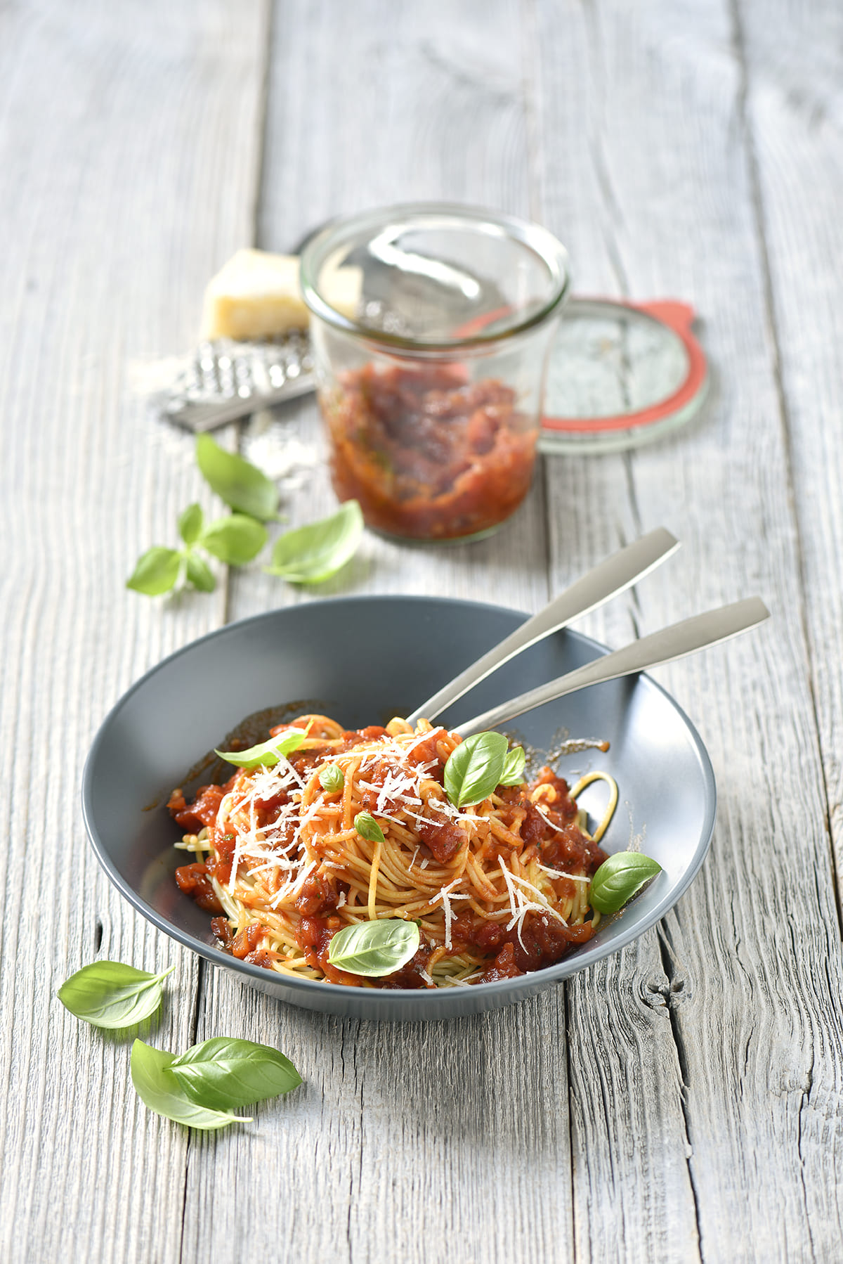Spaghetti von Antje Plewinski Foodfotografie