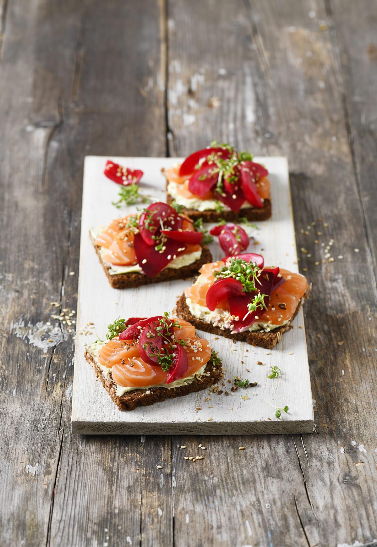 Lachsstulle von Antje Plewinski Foodfotografie