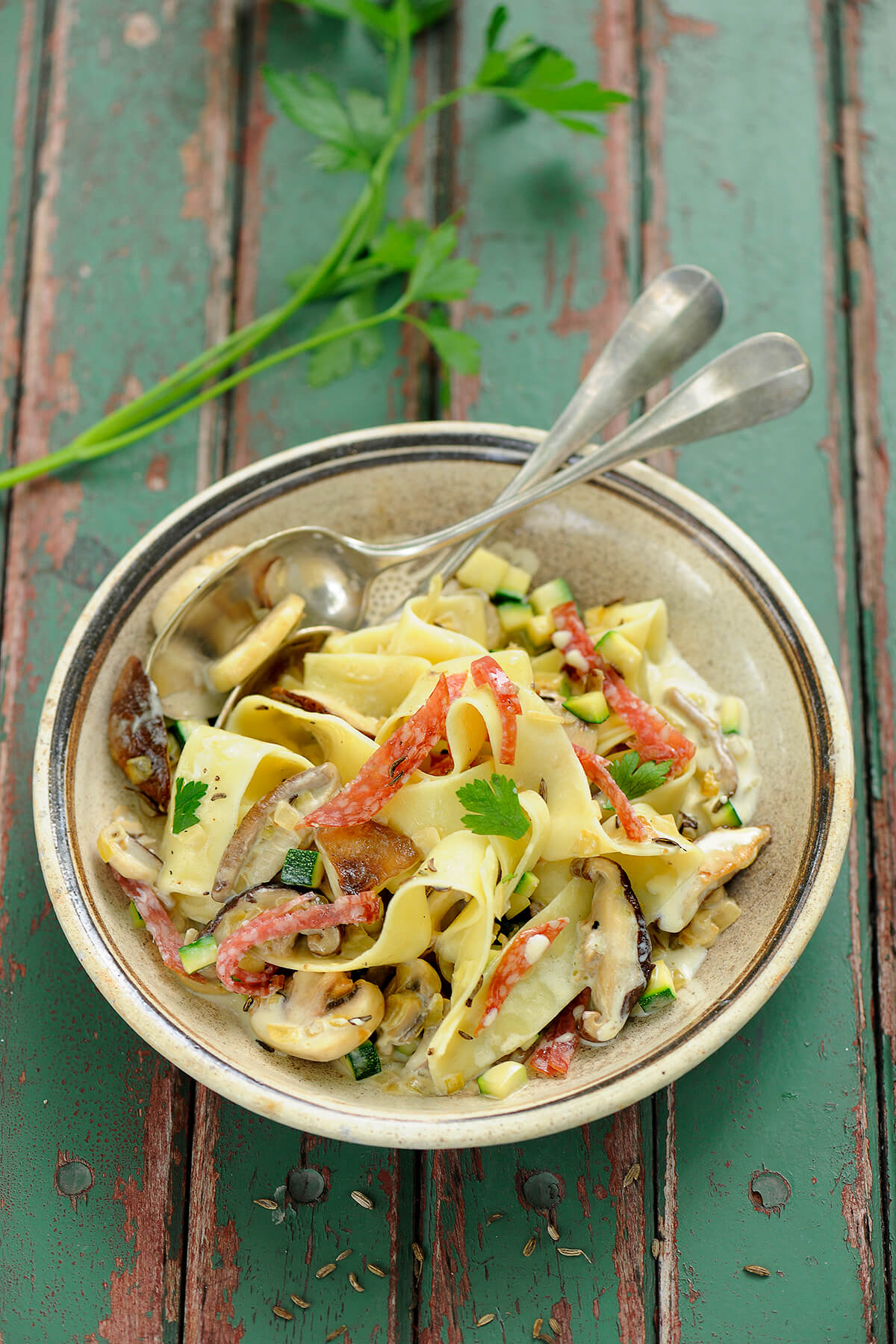 Bandnudeln von Antje Plewinski Foodfotografie