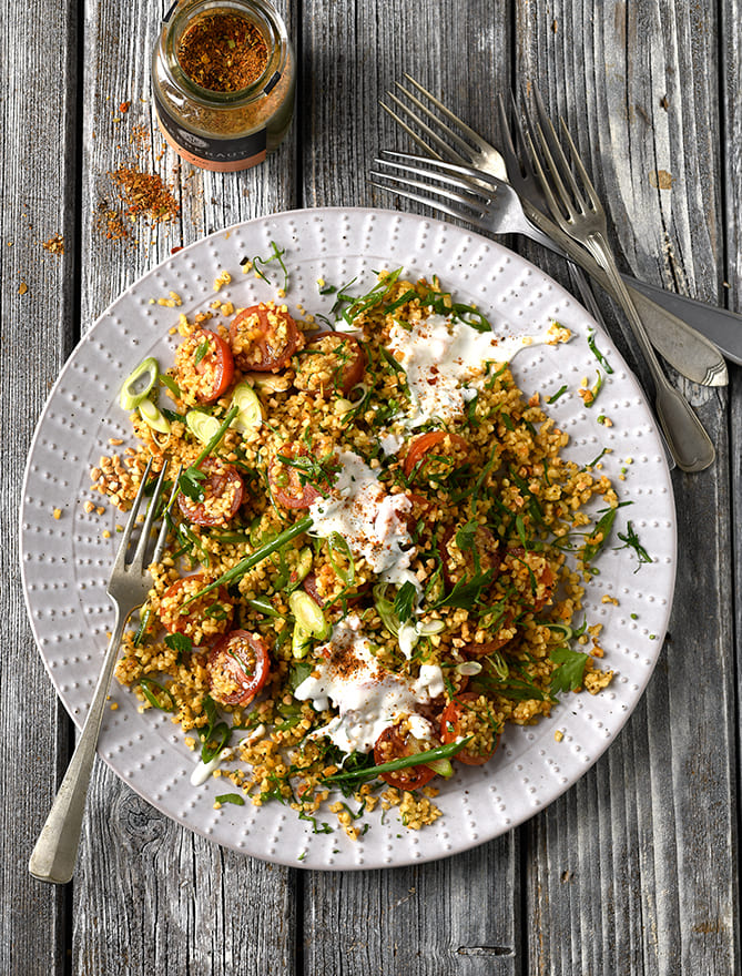 Bulgur Salat von Antje Plewinski Foodfotografie