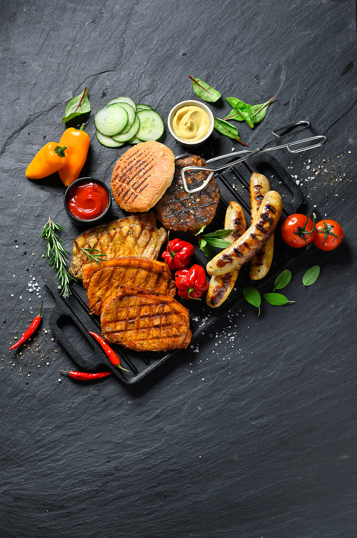 Grillgut von Antje Plewinski Foodfotografie