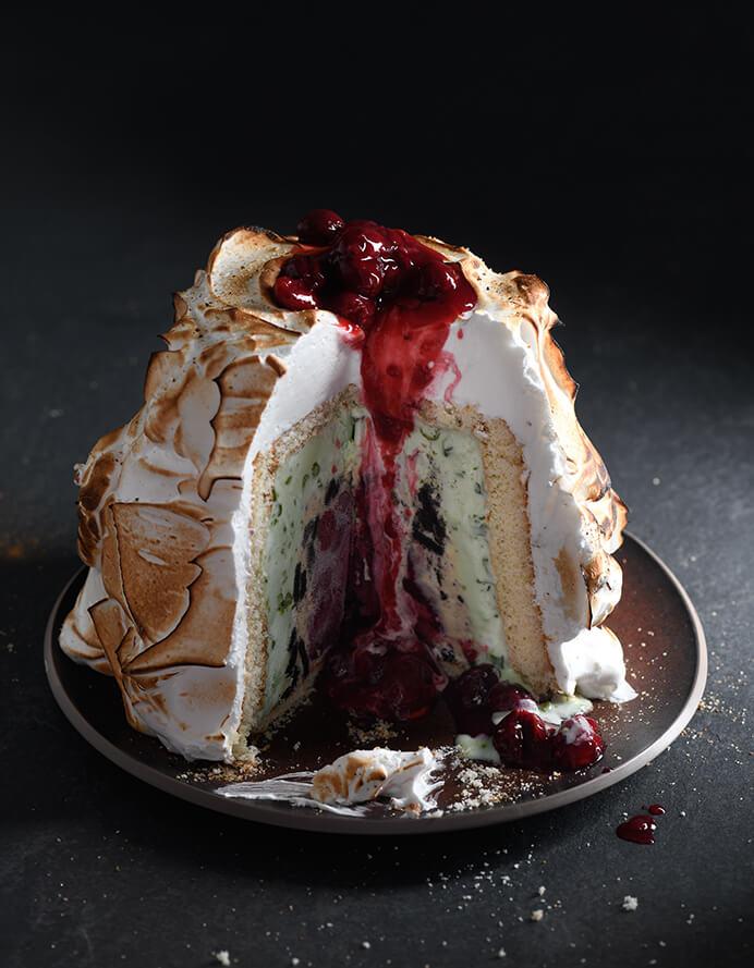 Eisbombe von Antje Plewinski Foodfotografie