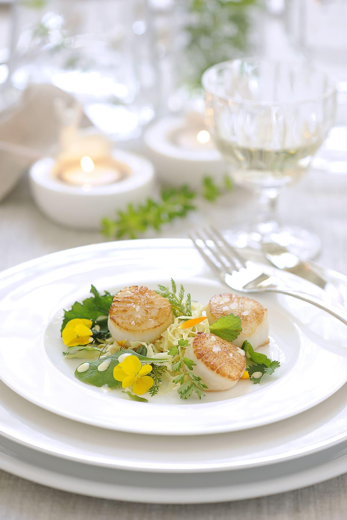 Jacobsmuschel von Antje Plewinski Foodfotografie