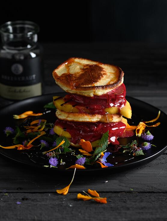 Pancake Burger von Antje Plewinski Foodfotografie