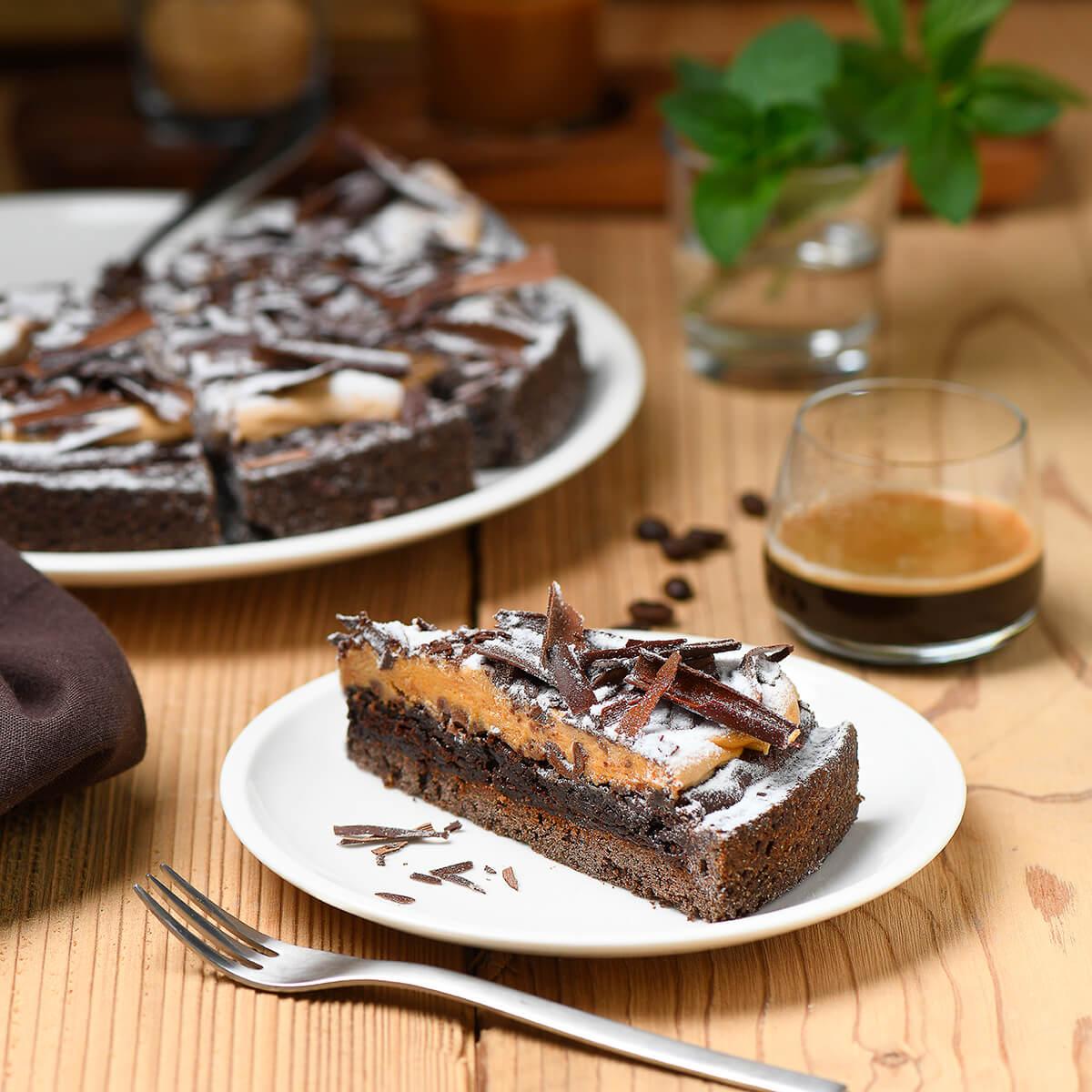 Salted Caramel Kuchen von Antje Plewinski Foodfotografie