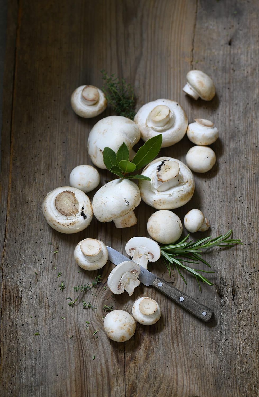 Champignons von Antje Plewinski Foodfotografie
